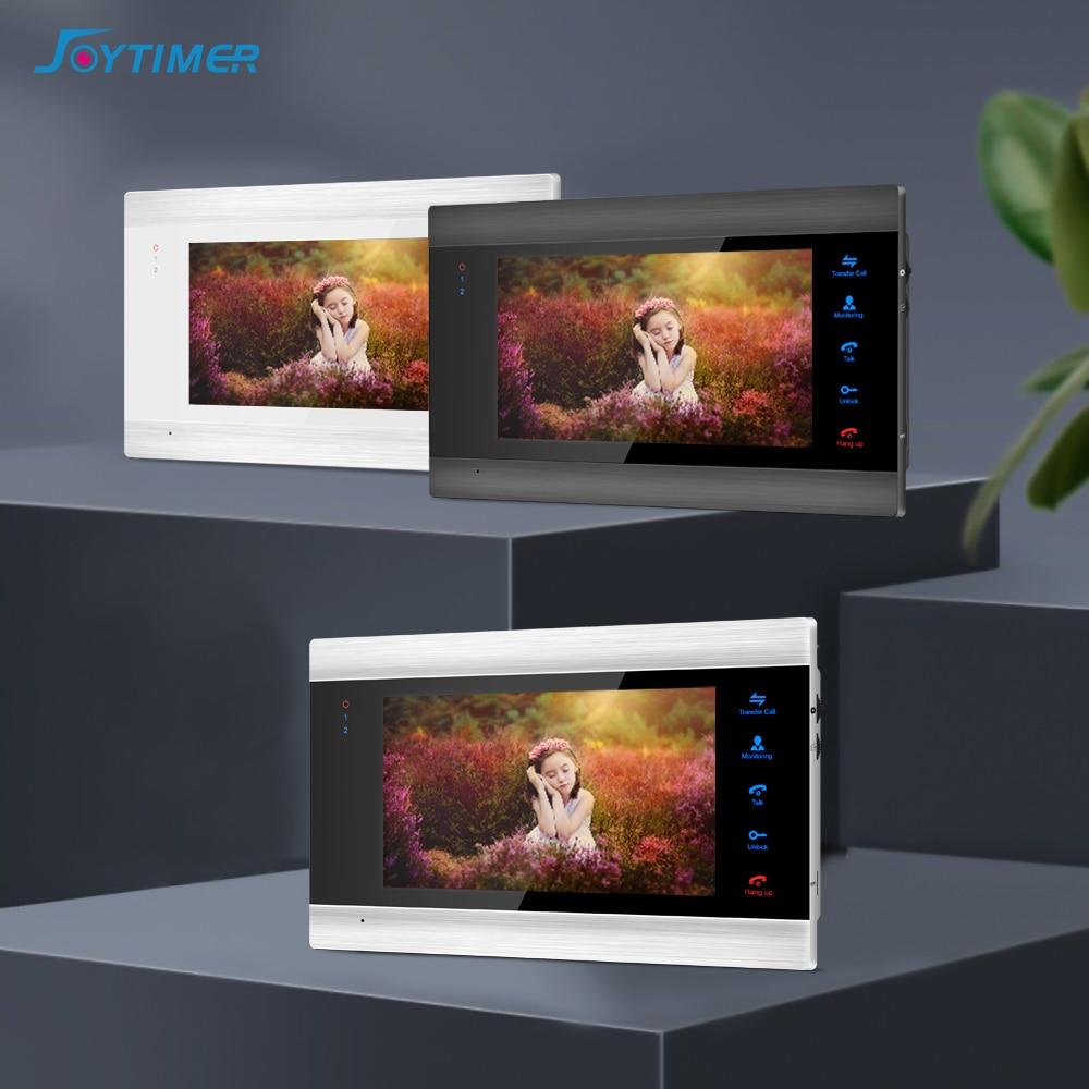 Joytimer video door phone video intercom for home intercom system 7