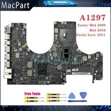 Carte mère A1297 testée dorigine 820-2610-A/B 820-2849-A 820-2914-B pour Macbook Pro 17