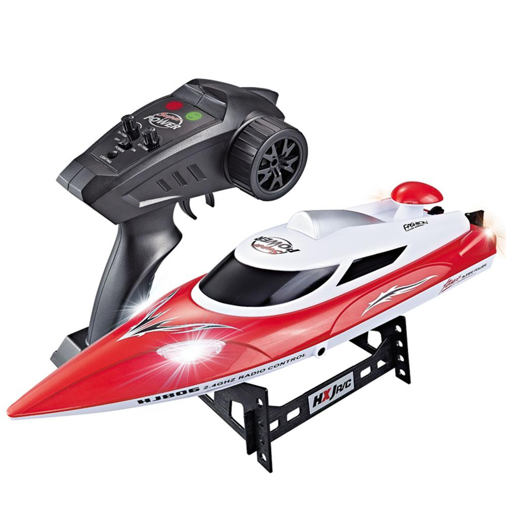 HJ806 2.4G High Speed 35km/h RC Boat Fast Ship 390 Motor Cooling Water System Remote Control Toy Boats VS WLtoys  WL912-A enlarge