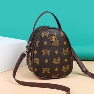 Women's Designer Luxury Handbag Presbyopic Retro Female Package Bag Fashion Crossbody Shoulder Bags for Women Mobile phone bag