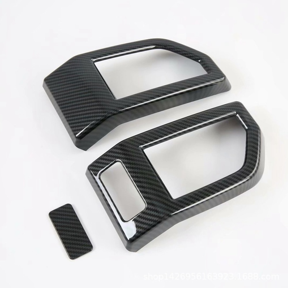 Car Interior Accessories Front Side Air Conditioner Left And Right Air Outlet Stickers Decoration For 2017-2020 Ford Raptor F150