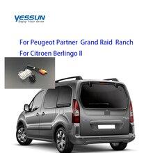 Yessun especial vista trasera de coche cámara para Peugeot Partner Grand Raid Rancho Citroen Berlingo II CCD cámara trasera