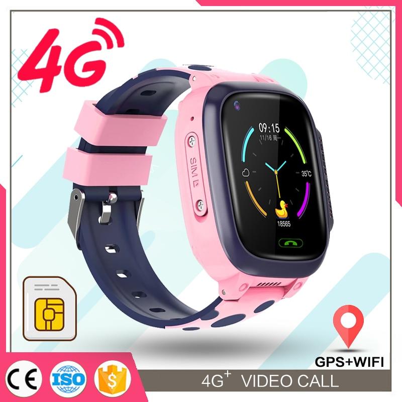 Y95 children's watch smart Kids GPS 4G waterproof boys With Sim Card Photo Waterproof IP67 Kids Gift For IOS Android Z5S
