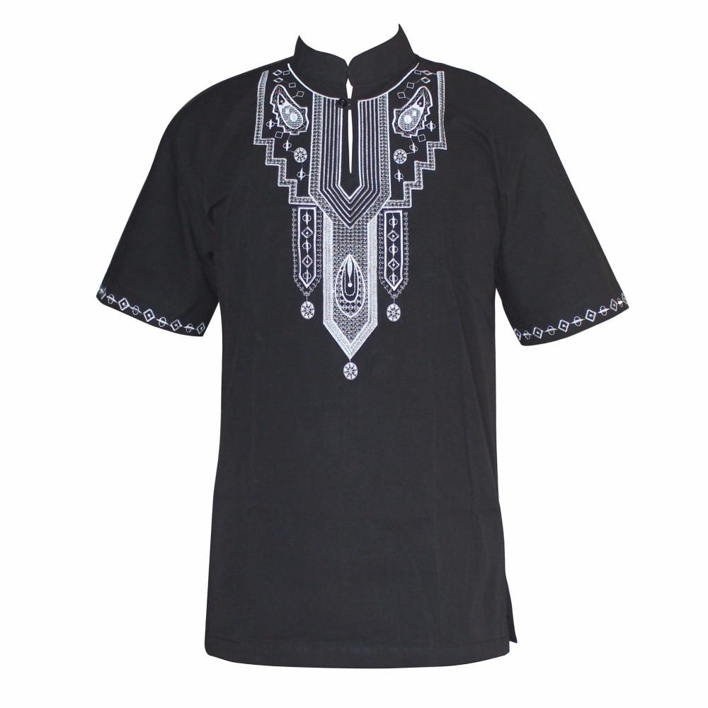 Вышивка Slim Hippie Dashiki мусульманские футболки с коротким рукавом Анкара дизайн традиционная африканская одежда оптом рубашка