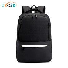 Sacs décole secondaire pour garçons étudiant étanche sac à dos orthopédique cartable hommes voyage ordinateur portable sac à dos garçon ordinateur sac 14 15.6