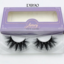 Free shipping products high quality brand makeup 100% siberian mink eyelashes
