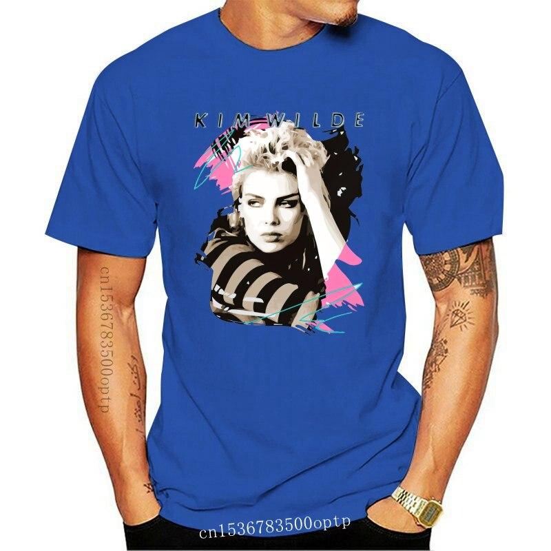 Для мужчин футболка Kim Wilde 80s ретро выцветшие Винтаж 1980s поп детская Америки футболка унисекс с принтом фyтбoлкa т до oбрaзный вырeз Топ Футболки      АлиЭкспресс