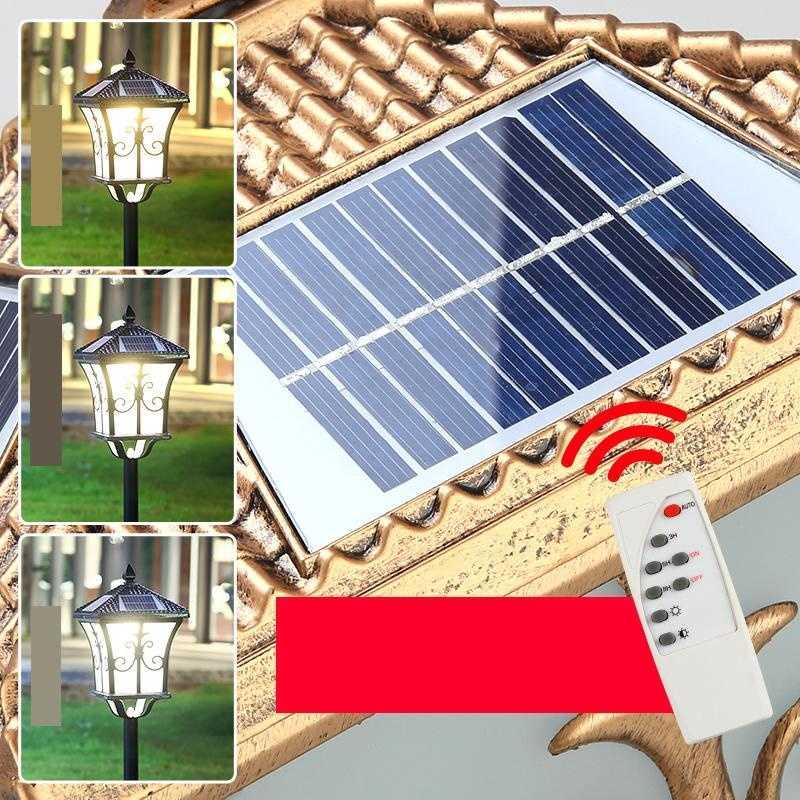 Lampa Ogrodowa Tuinlamp Luce Para Exterior Tuinverlichting Lighting Lumiere Exterieur De Jardin Lamp LED Outdoor Garden Light enlarge