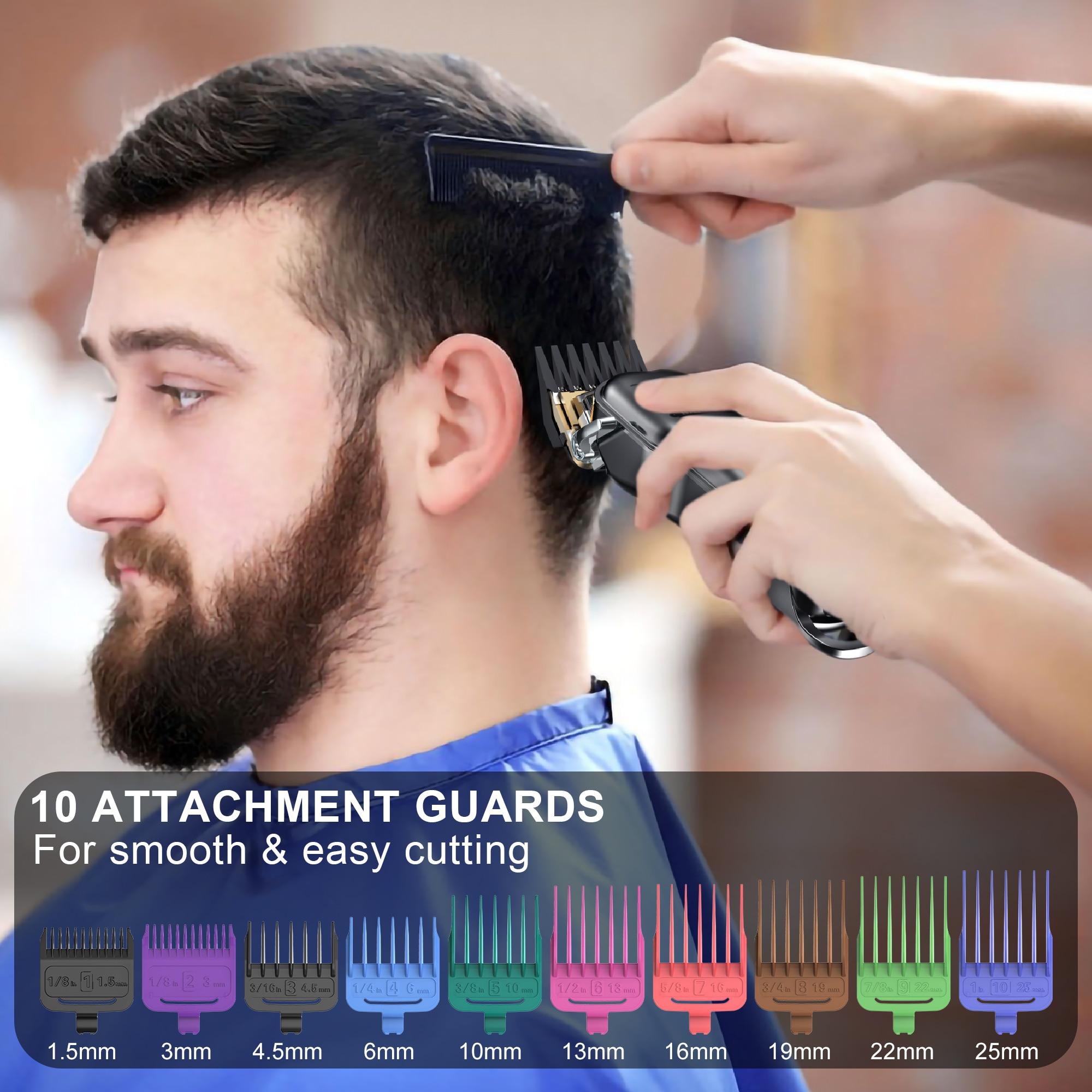 Hair Clipper Men Beard Trimmer Professional Cordless Rechargeable Hair Clipper Kit Barber Shop Powerful Power Hair Trimmer Men enlarge