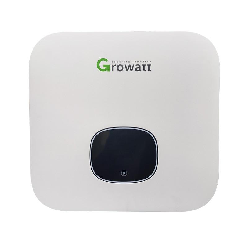 Growatt محوّل ربط شبكي 3000W 3600W 4200W 4600W 5000W 6000W 220V واحدة عبارة المزدوج MPPT محض موجة جيبية Wifi OLED MIN3000-600