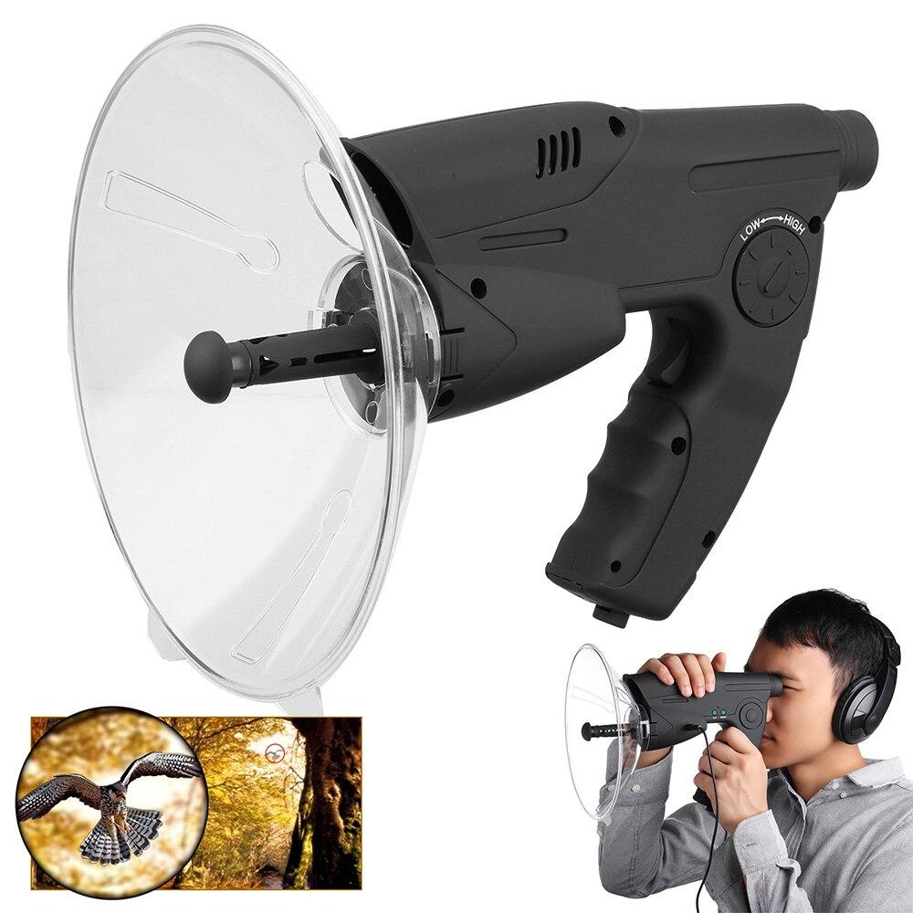 جهاز وولفيس لهواة الطيور عن بعد ، جهاز تكبير صوت الأذن 8X ، جهاز مكبر صوت للتجسس والاستماع ، جهاز مراقبة الطيور