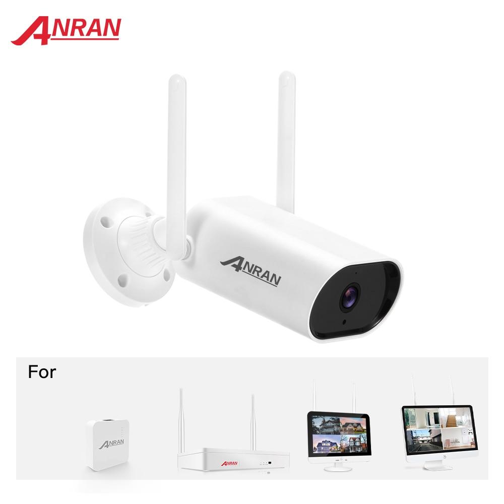 ANRAN-ملحقات نظام الكاميرا اللاسلكية ، تعمل مع ANRAN NVR ، اتصال لاسلكي للرؤية الليلية ، مقاوم للماء