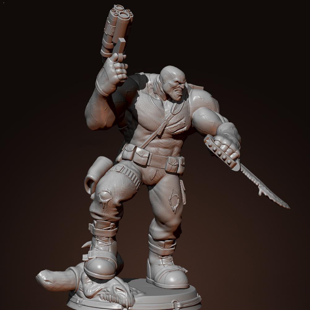 75mm 1/24 resina soldado modelo samurai guerreiro branco modelo ornamento brinquedo auto-montado soldado artesanato resina TD-213 p7x5