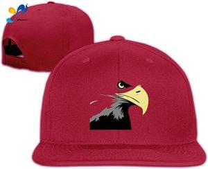 Yellowpods USA Mullet Eagle2 Men's Relaxed Medium Profile Adjustable Baseball Cap