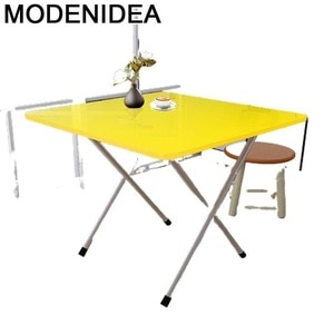Study Small Apartment Restaurant Children Home Bureau Tablo Kids Kitchen Furniture De Jantar Mesa Plegable Folding Dinner Table