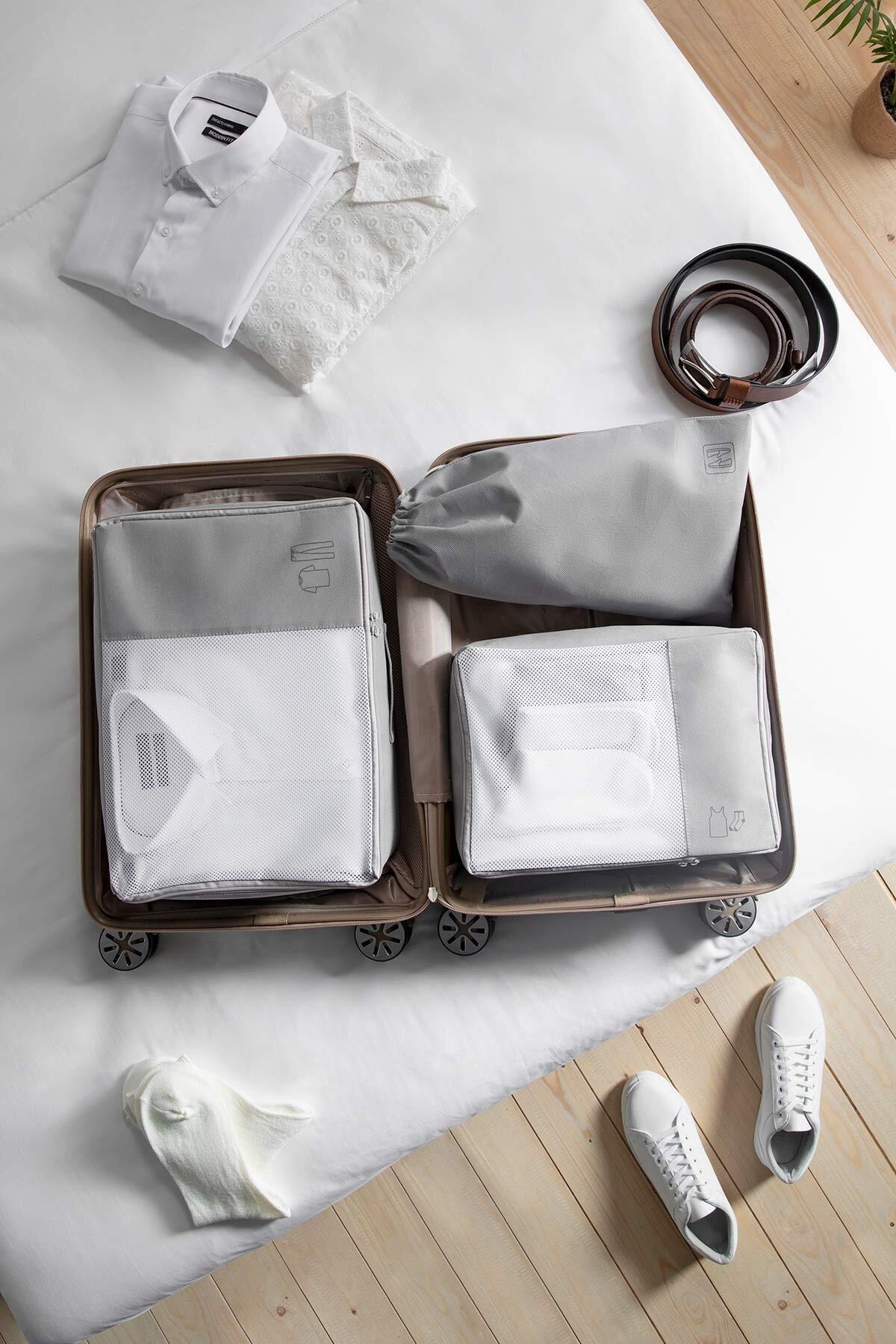 Ocean Home 3'lü Suitcase Intra- Set Organizer