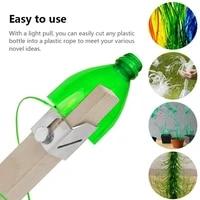 Coupe-bouteille intelligent Portable en plastique  pour lexterieur  Protection de lenvironnement  coupe-bouteille fait a la main