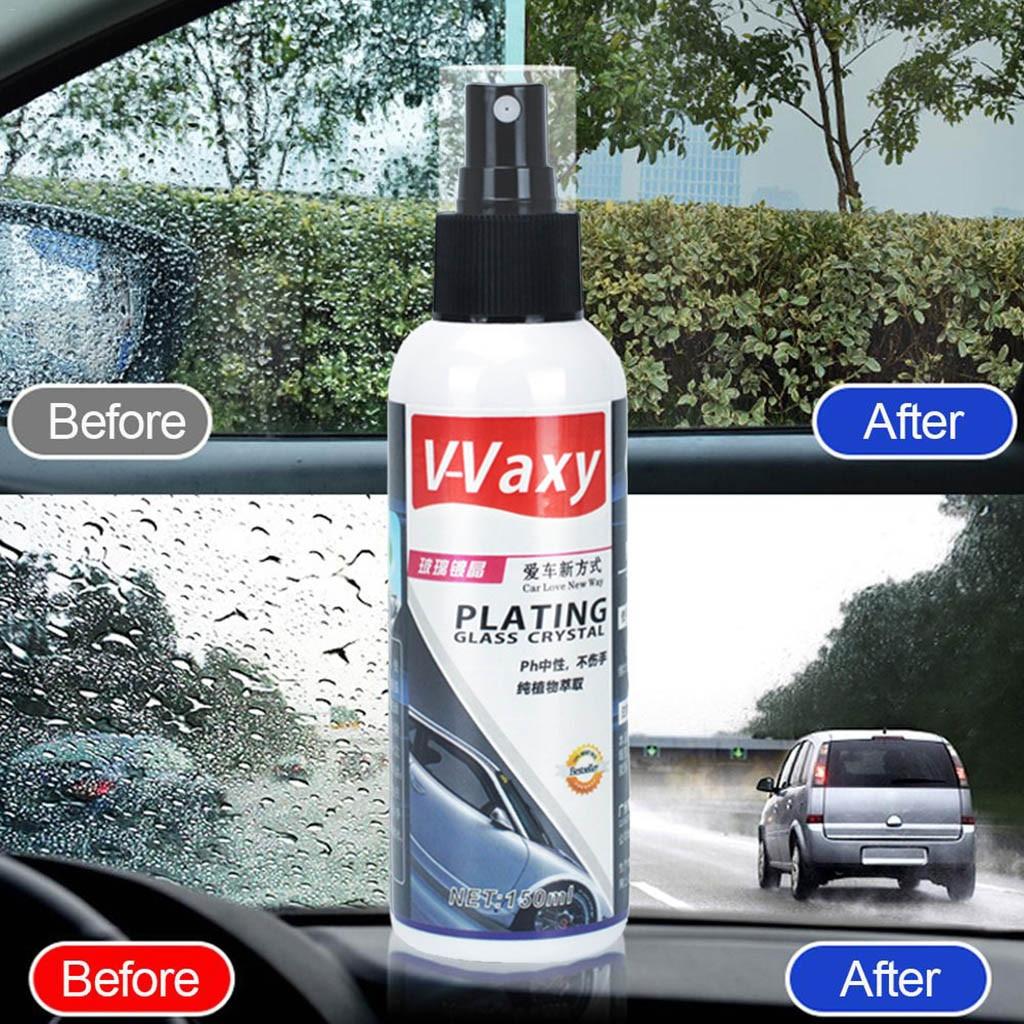 150ML agente de revestimiento de vidrio automotriz a prueba de lluvia agente de vidrio marca de lluvia película de aceite removedor de espejo retrovisor de coche agente de inundación