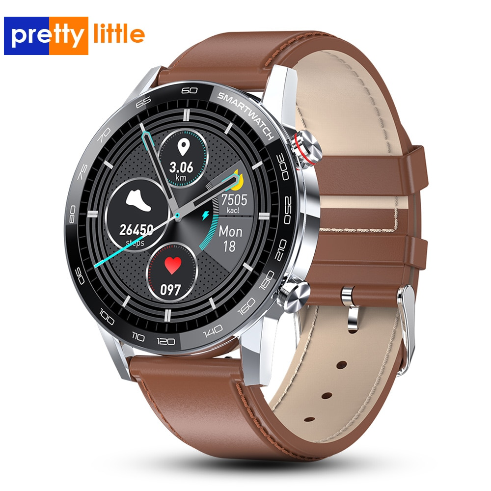 PL16 Смарт-часы для мужчин 1,3 дюйма 360*360 HD полный сенсорный экран Смарт-часы ЭКГ PPG IP68 Водонепроницаемые Фитнес спортивные часы
