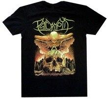Psycroptic As The Kingdom Drowns Skull Shirt S-XXL Officl Death Metal T-Shirt TEE Shirt Free Shipping Funny Tops