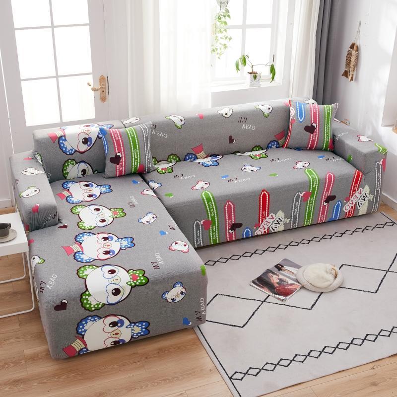 Чехол для дивана в гостиную, накладки на диван, чехол для угловой кушетки, L-образный шезлонг для дивана