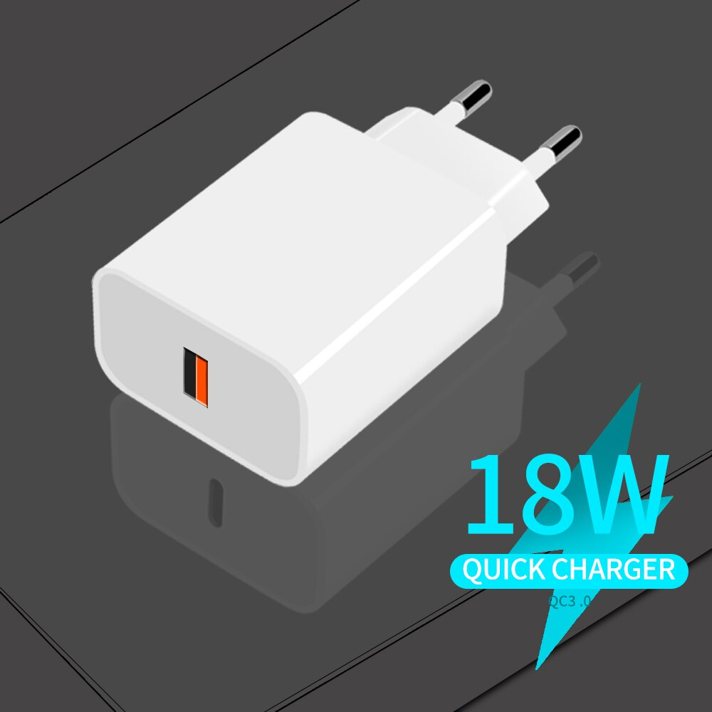 18W USB Lnterface Qc3.0 Mobile Phone Quick Charger Charger Can Quickly Charge Various Devices Such X
