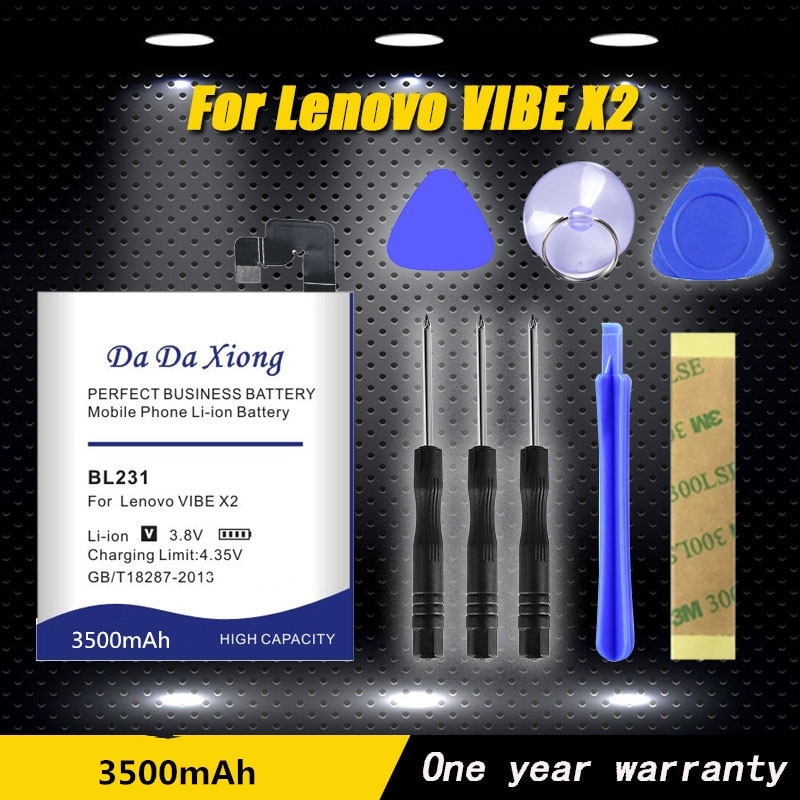 High quality 3500mAh BL231 Battery for Lenovo VIBE X2 X2-TO X2-CU S90T S90U Phone battery