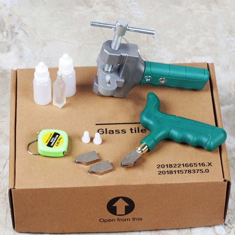عالية القوة الزجاج القاطع بلاط المحمولة متعددة الوظائف المحمولة فتاحة المنزل الزجاج القاطع الماس قطع اليد أدوات