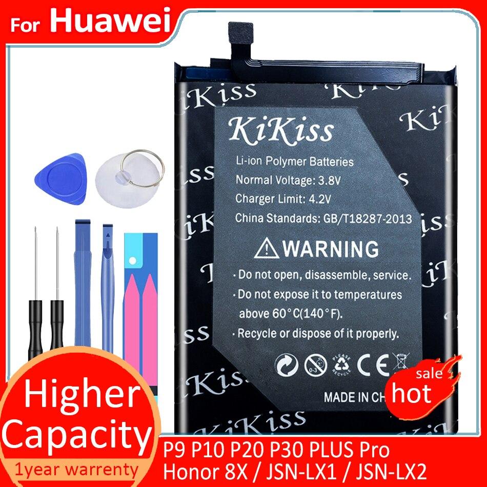 Для Huawei P9 P10 P20 P30 PLUS Pro / Honor 8X / JSN-AL00 / JSN-LX1 / JSN-LX2 / JSN-L21 / JSN-L22 / JSN-L23 HB386596ECW батарея