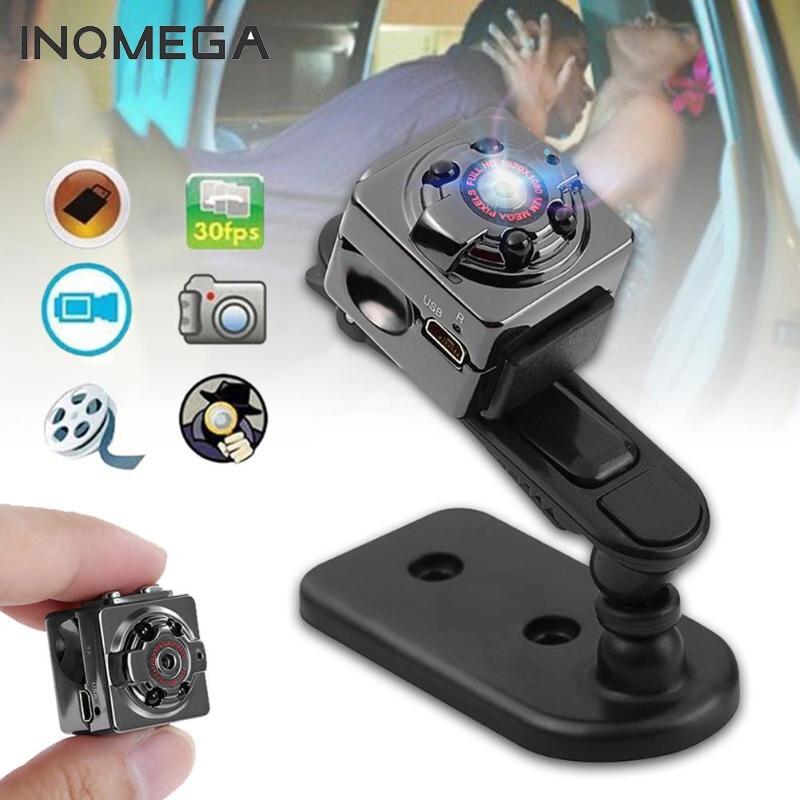 INQMEGA SQ8 Smart 1080P Full HD pequeña cámara Micro Mini cámara de vídeo visión nocturna cuerpo inalámbrico DVR DV pequeño Minicamera