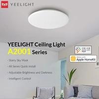 Yeelight     plafonnier intelligent serie ChuXin A2001  ac 220v  Version etoile  Design dinstallation rapide  compatible avec MiHome Apple HomeKit