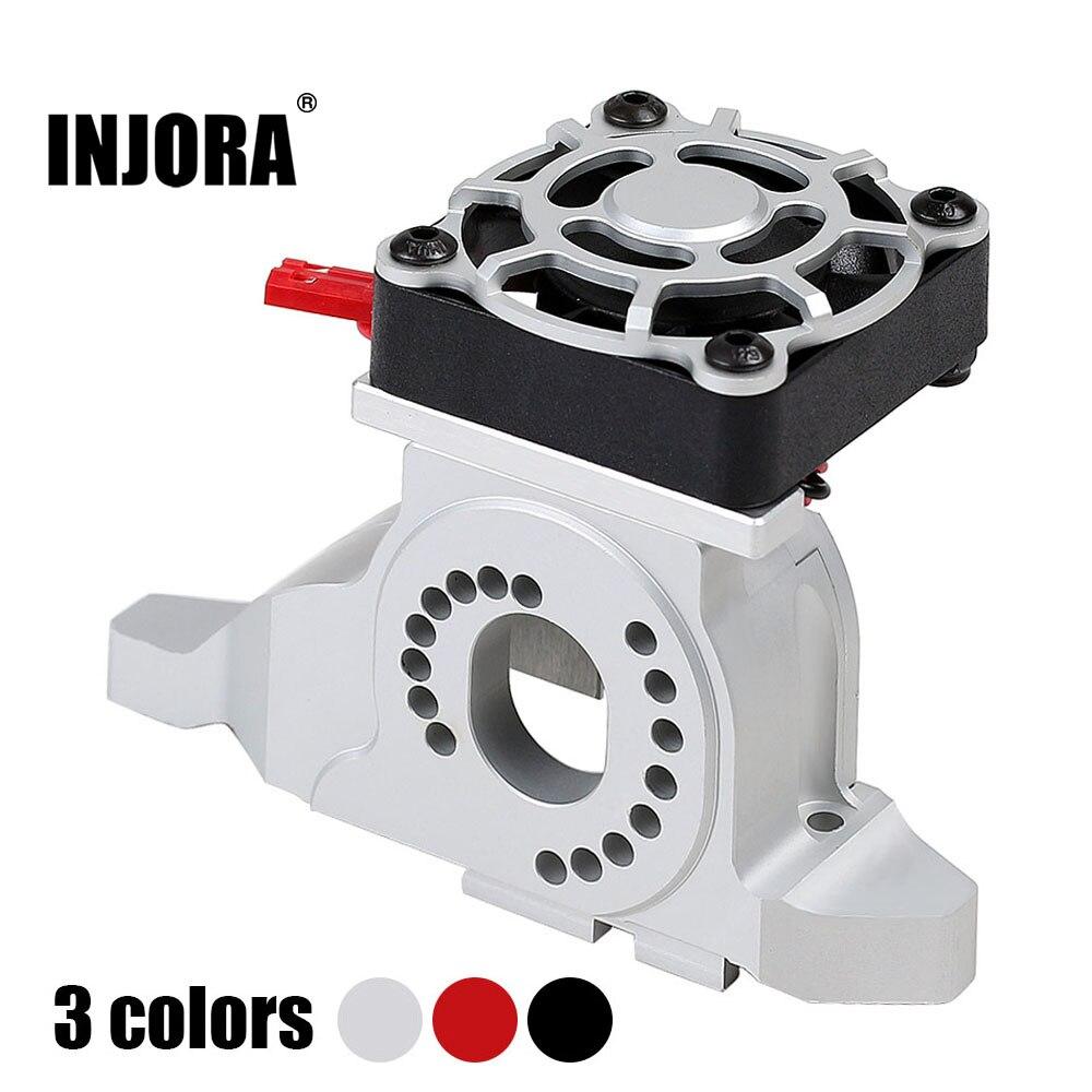Dissipador de calor para montagem de motor, 1 peça, dissipador de calor de liga de alumínio com ventilador de refrigeração para 1/10 rc crawler car traxxas TRX-4 #8290