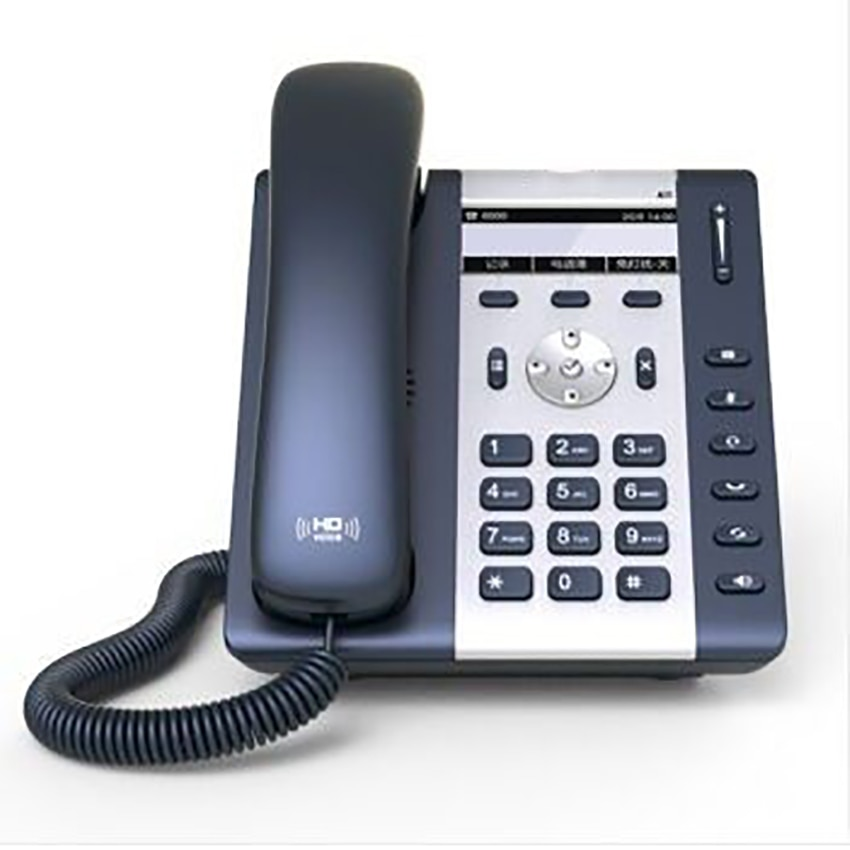 1-linha de telefone ip com 2 portas e 132x52 display lcd, luz de fundo, multi-idioma, a10w wireless lan telefone ip WIFI-SIP telefone