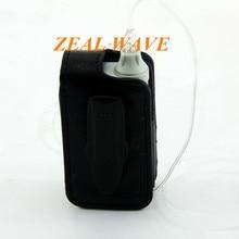 Bomba de insulina coreana, carcasa Vertical de cuero negro con billetera, bolsa de cuero con cinturón de Clip, tubería consumible de bomba Dana