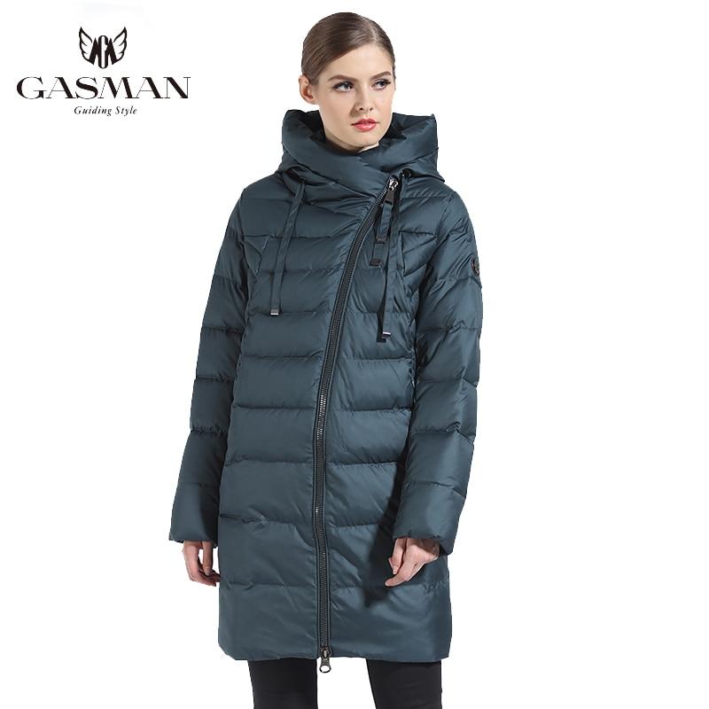 GASMAN 2019 Women Winter Jacket Long Winter Thick Coat Women Hooded Down Parka Warm Female Clothes Winter Plus Size 5XL 6XL 180