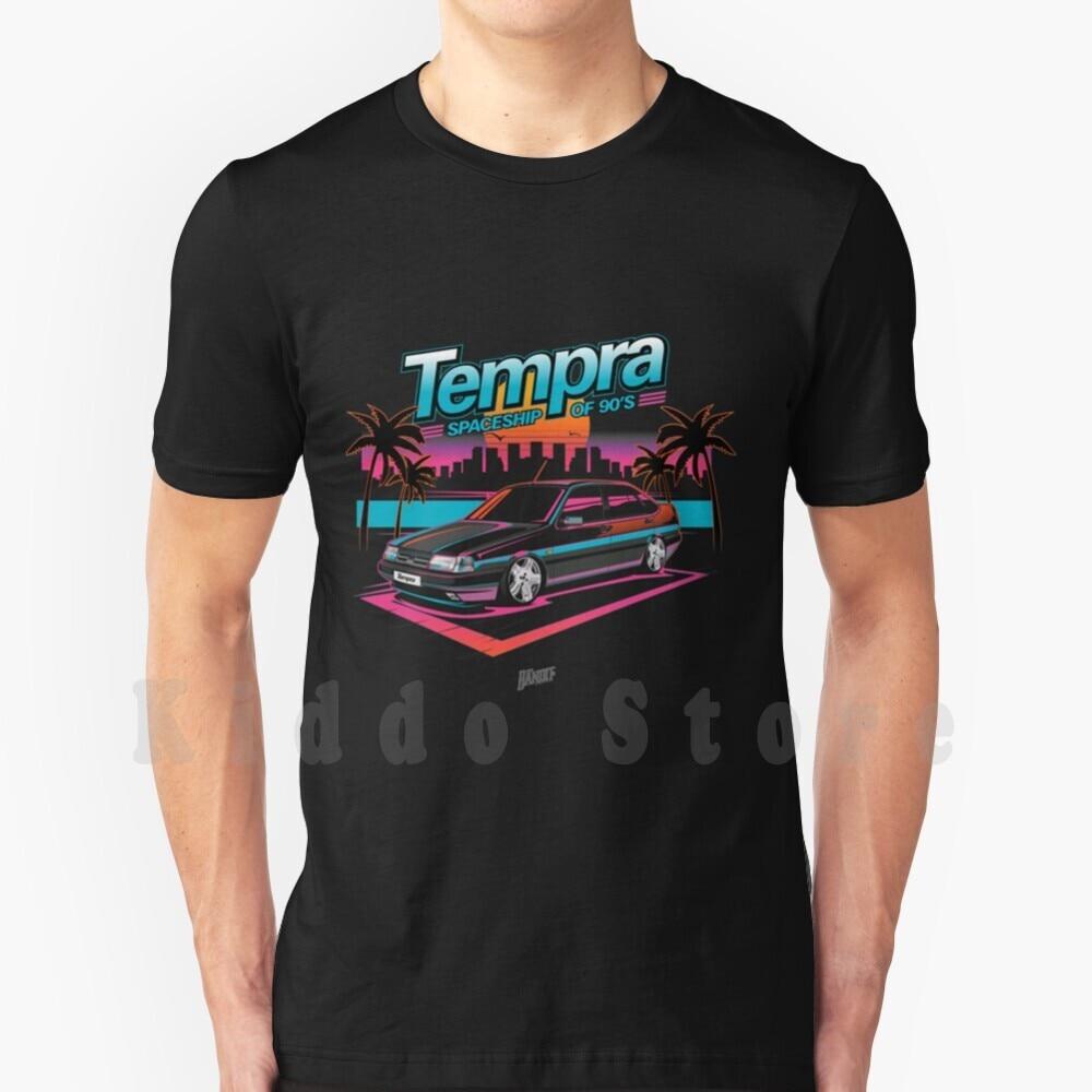 Fiat Tempra T camisa de los hombres de algodón Diy estampado Cool...