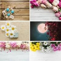 zhisuxi vinyl custom photography backdrops prop flower and wooden planks photo studio background 191023pk 0002