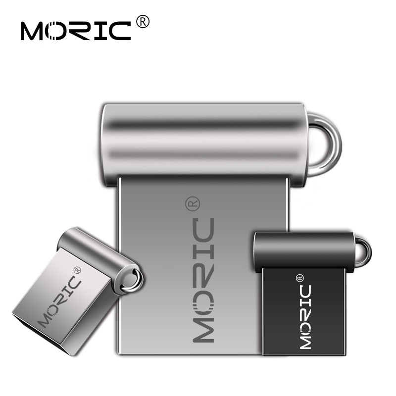 Memoria externa con capacidad Real 4GB 8GB USB de Metal pen drive...