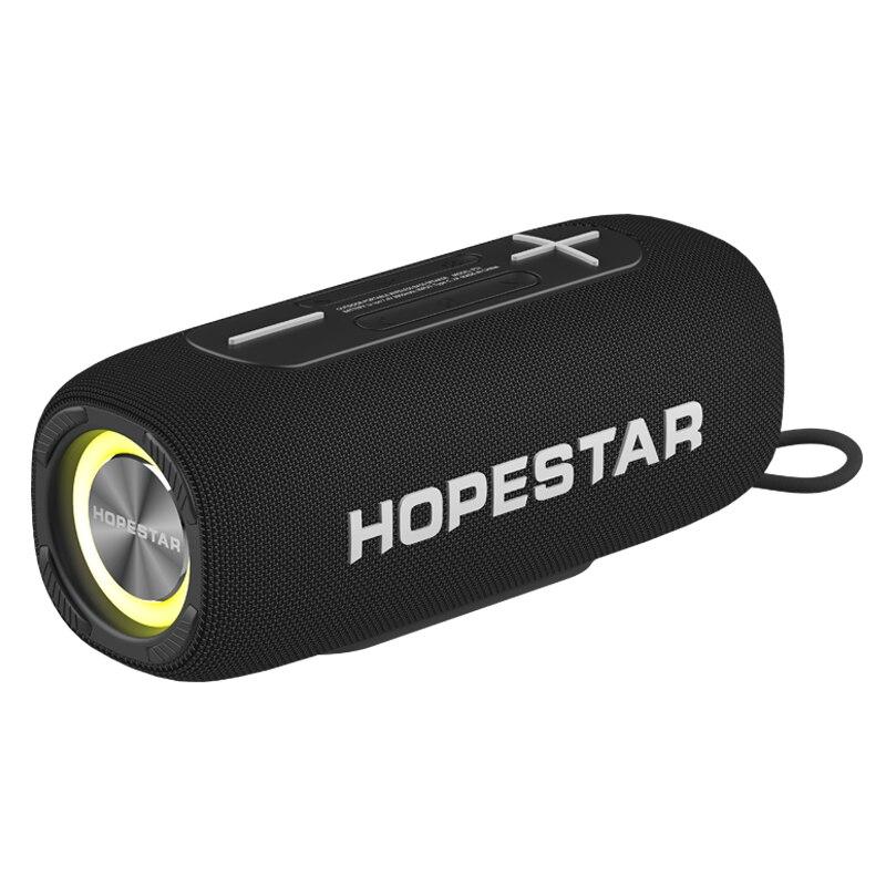 HOPESTAR P32 اللاسلكية في الهواء الطلق مكبر صوت بخاصية البلوتوث قابل للنقل عالية الطاقة مضخم صوت مع راديو FM TF USB TWS في الهواء الطلق للماء speake