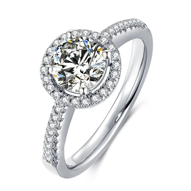 Luxury quality SONA synthetic stone wedding ring set,bridal set, engagement ring set for women,Wholesale Drop Shipping