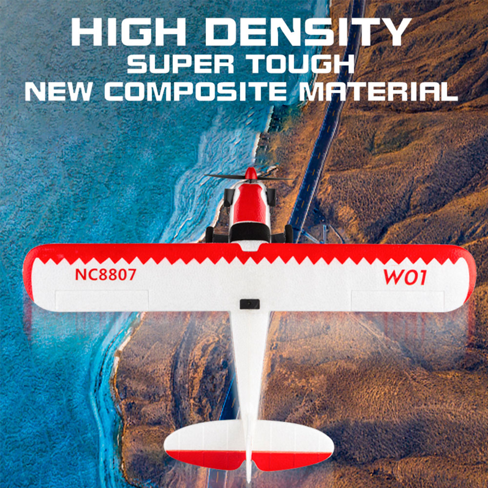 W01-J3 Fixed Wing 505mm Wingspan 6-axis Gyroscope 2.4Ghz 3CH Light Weight RTF Ready To Fly Outdoor RC Airplane Models Toys enlarge