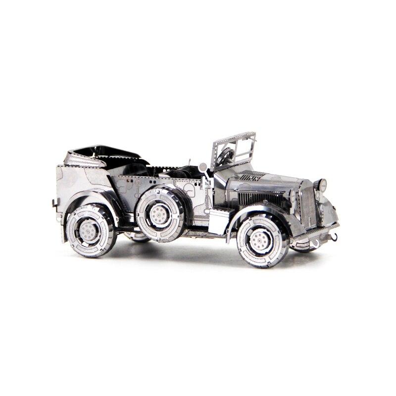 Rompecabezas 3D DIY de metal HORCH KFZ 15, mini modelo de colección, juguetes de regalo, rompecabezas de corte láser de tierra, medición de precisión, forjado