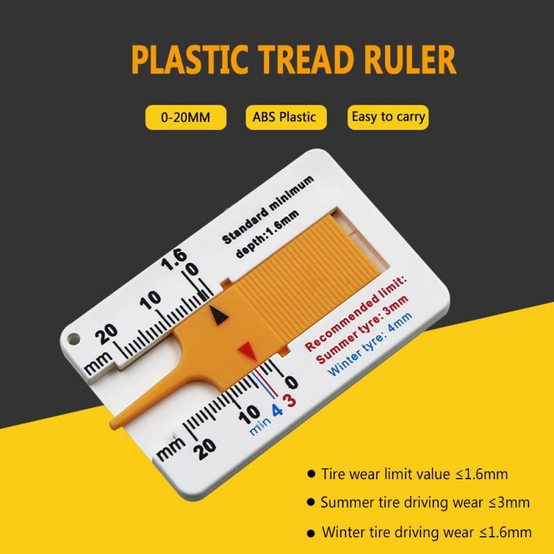 Автомобильный датчик глубины для колес 0-20 мм, дептометр для протектора шин, индикатор глубины, манометр, прицеп для мотоцикла, фургон, измер...