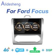 2G + 32G DSP 2 din Android 8.1 4G NET Car Radio Multimedia Video Player per Ford messa a fuoco EXI MT MK2 MK3 04-11 WiFi BT adattatore telaio