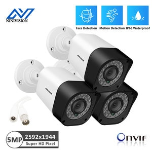 HD Analog Security Camera 5.0MP Out door Waterproof Infrared Night Vision Home AHD Camera For CCTV Security Surveillance System