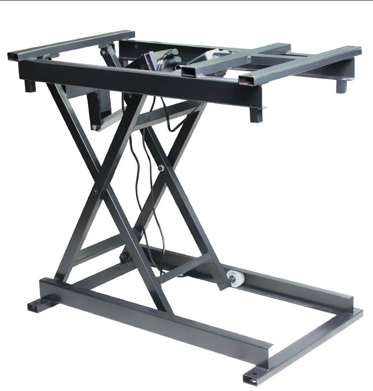 رافعة كهربائية سلكية/لاسلكية رفع طاولة القهوة طاولة طعام حامل قابل للطي