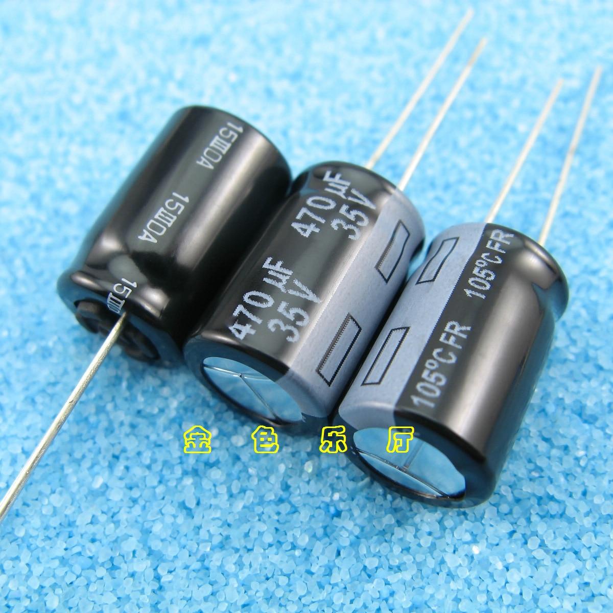 30pcs/lot Original Matsushita FR series ultra-low internal resistance audio fever aluminum electrolytic capacitors free shipping