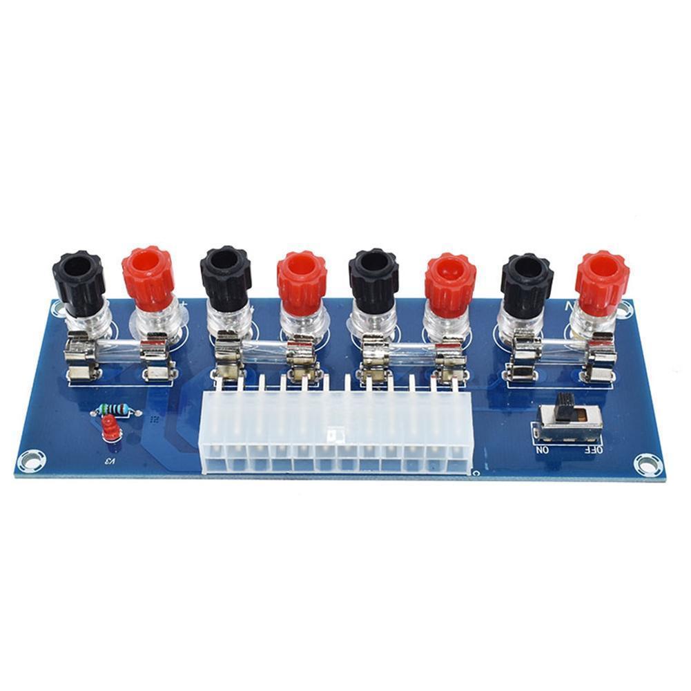 Placa de circuito Mod H5S7 de 24 pines con salida de Terminal de salida de 24 Pines de potencia ATX para transmisión de chasis de PC de escritorio de XH-M229
