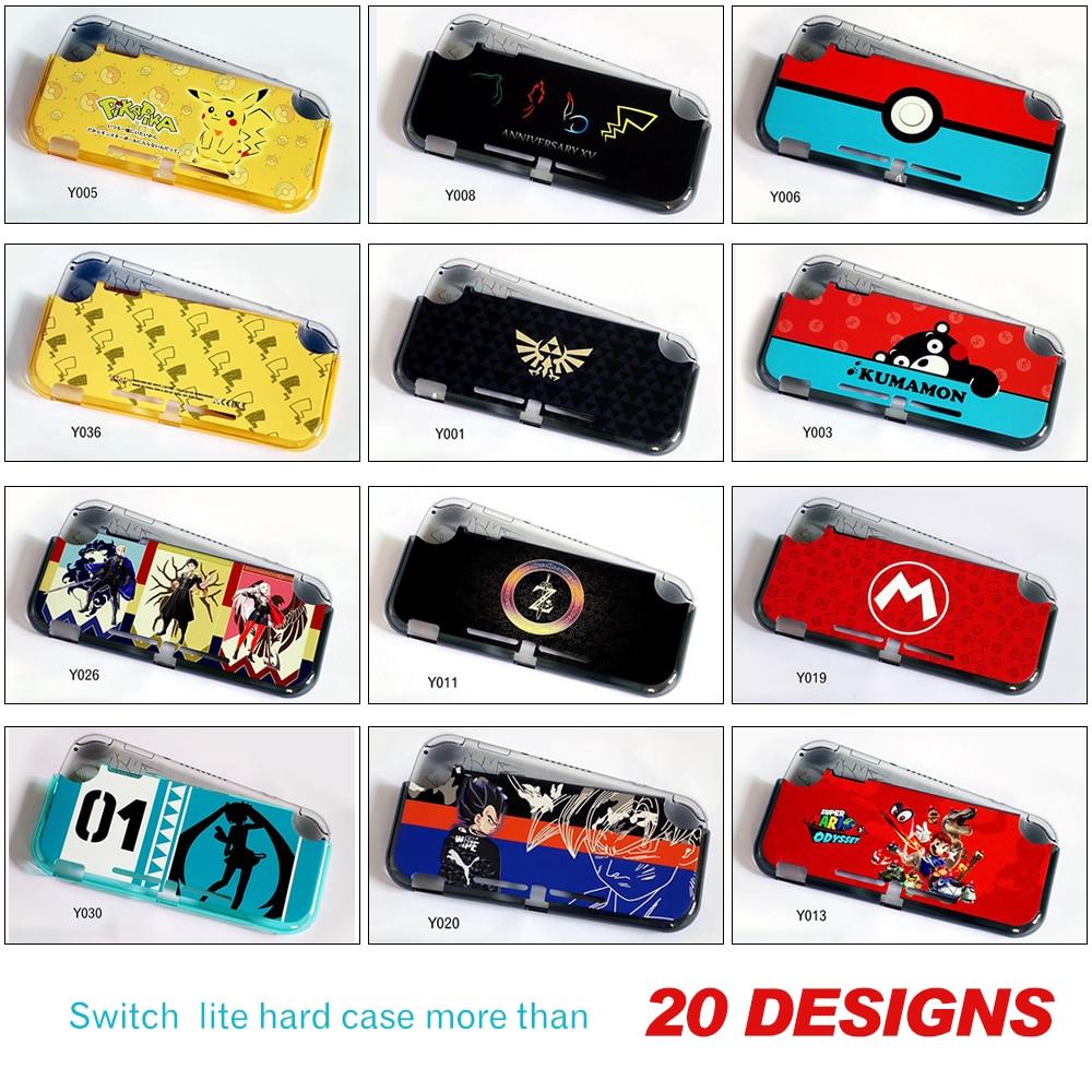 Nueva funda de plástico mate para Nintendo Swatch Lite Console para Switch Lite Controller Protection Mini NS Console
