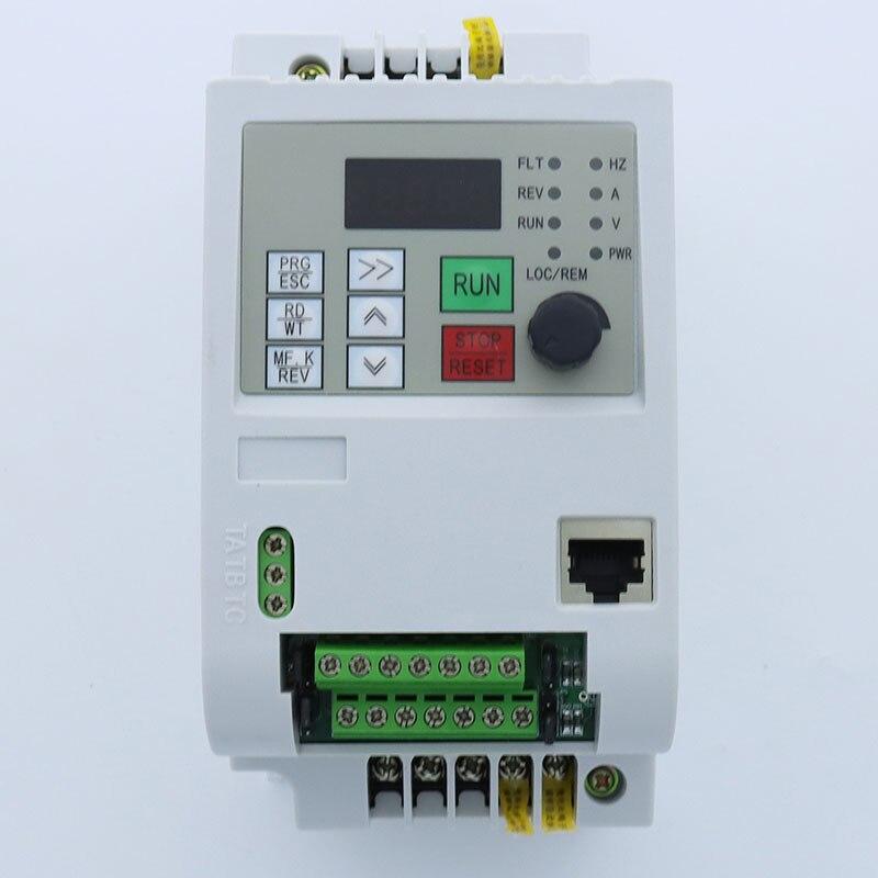 لأوروبا CE 220 فولت محول تردد/تشغيل محرك التيار المستمر/VFD/NFlixin تردد العاكس الناتج مرحلة واحدة 220 فولت العاكس